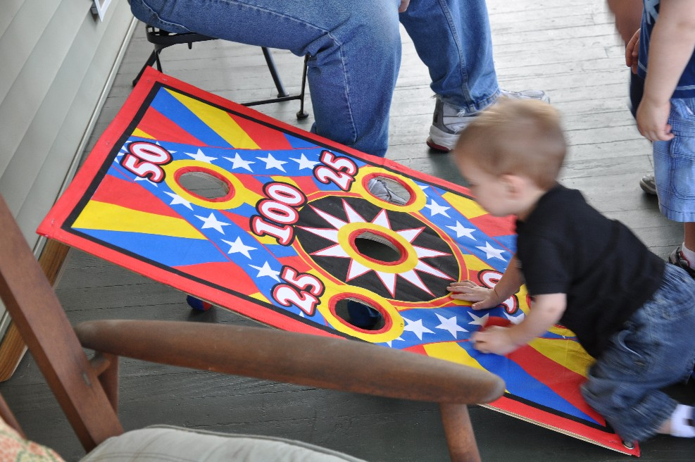 circus birthday party games