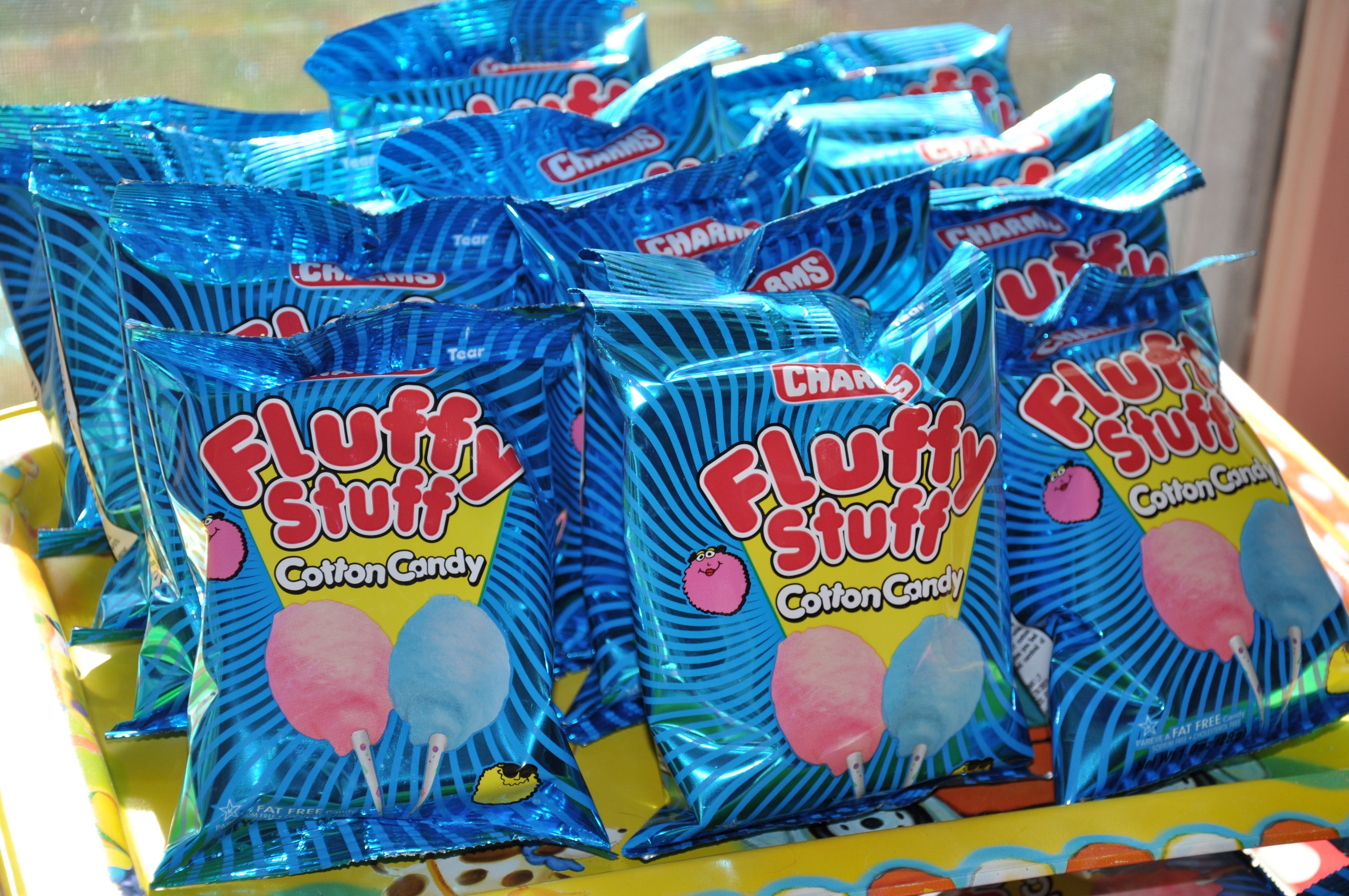 Circus Birthday Party Food Cotton Candy