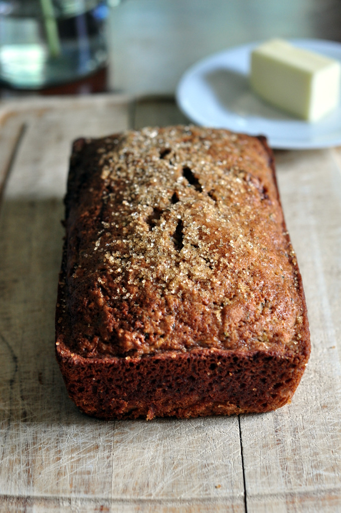 healthier healthy zucchini bread recipe