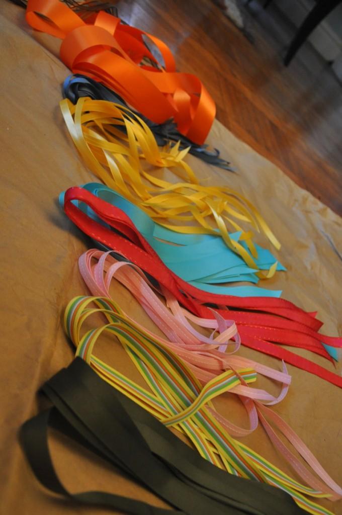 DIY Ribbon Mobile