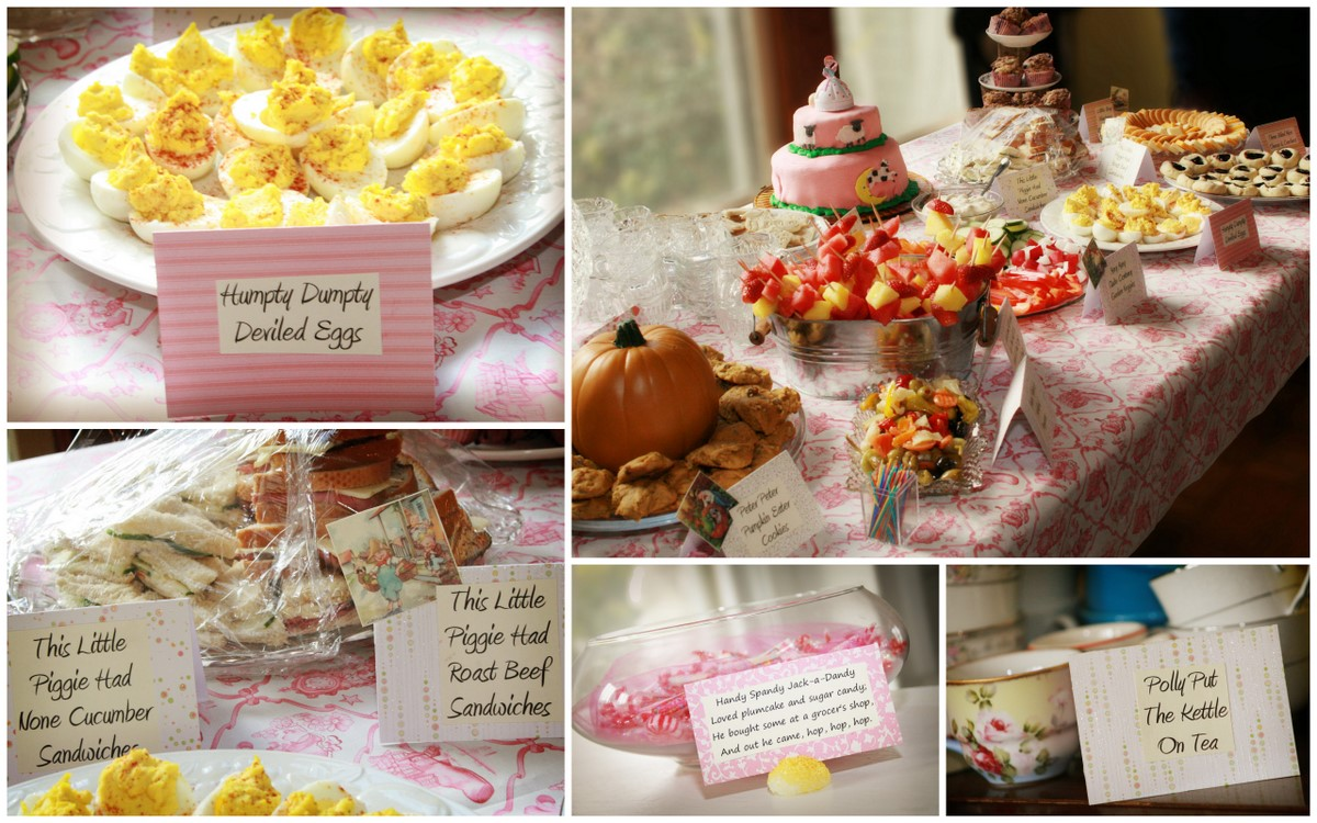 Nursery Rhyme Baby Shower Bebehblog