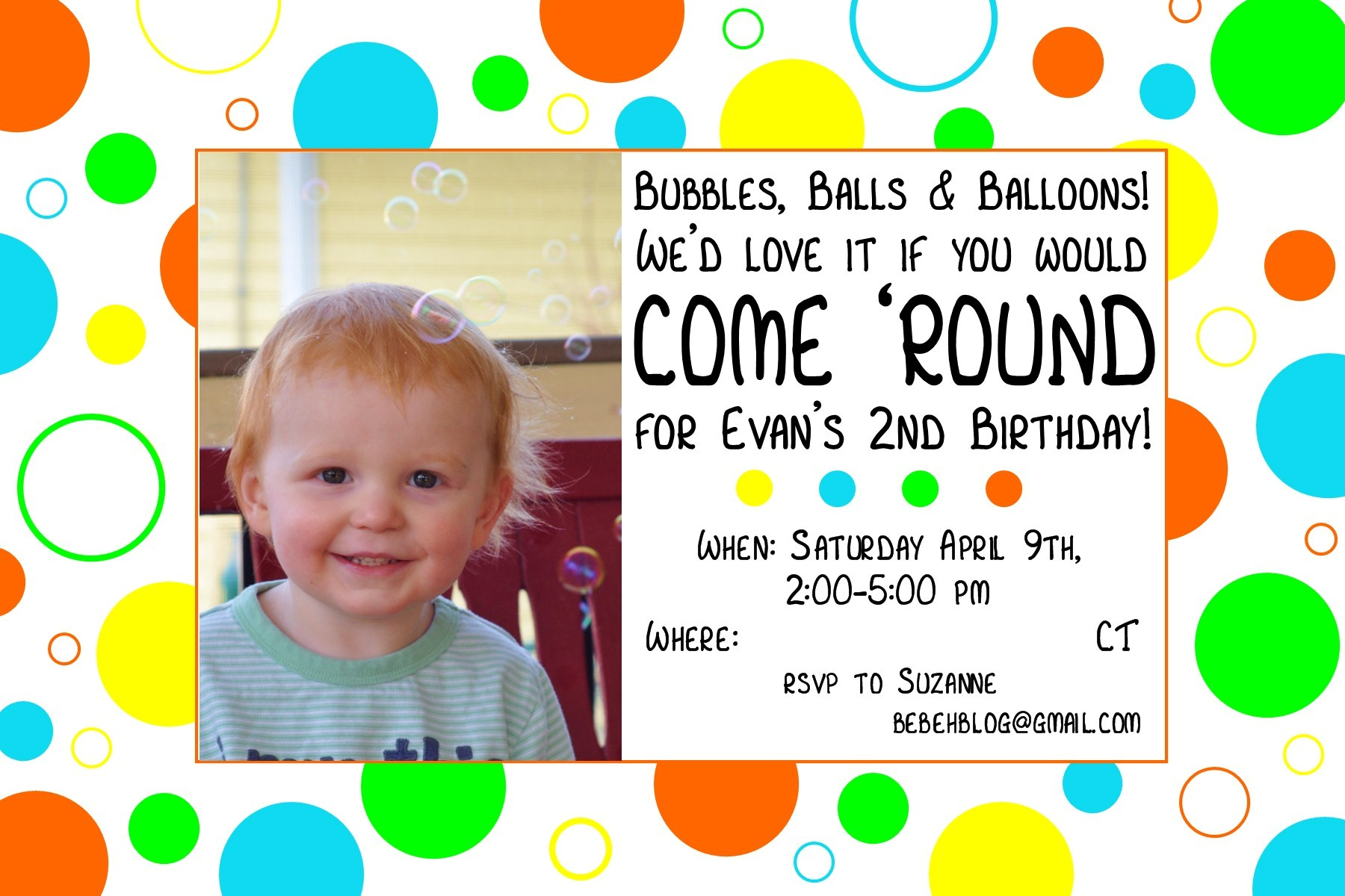 Evans Second Birthday Decorations Bebehblog