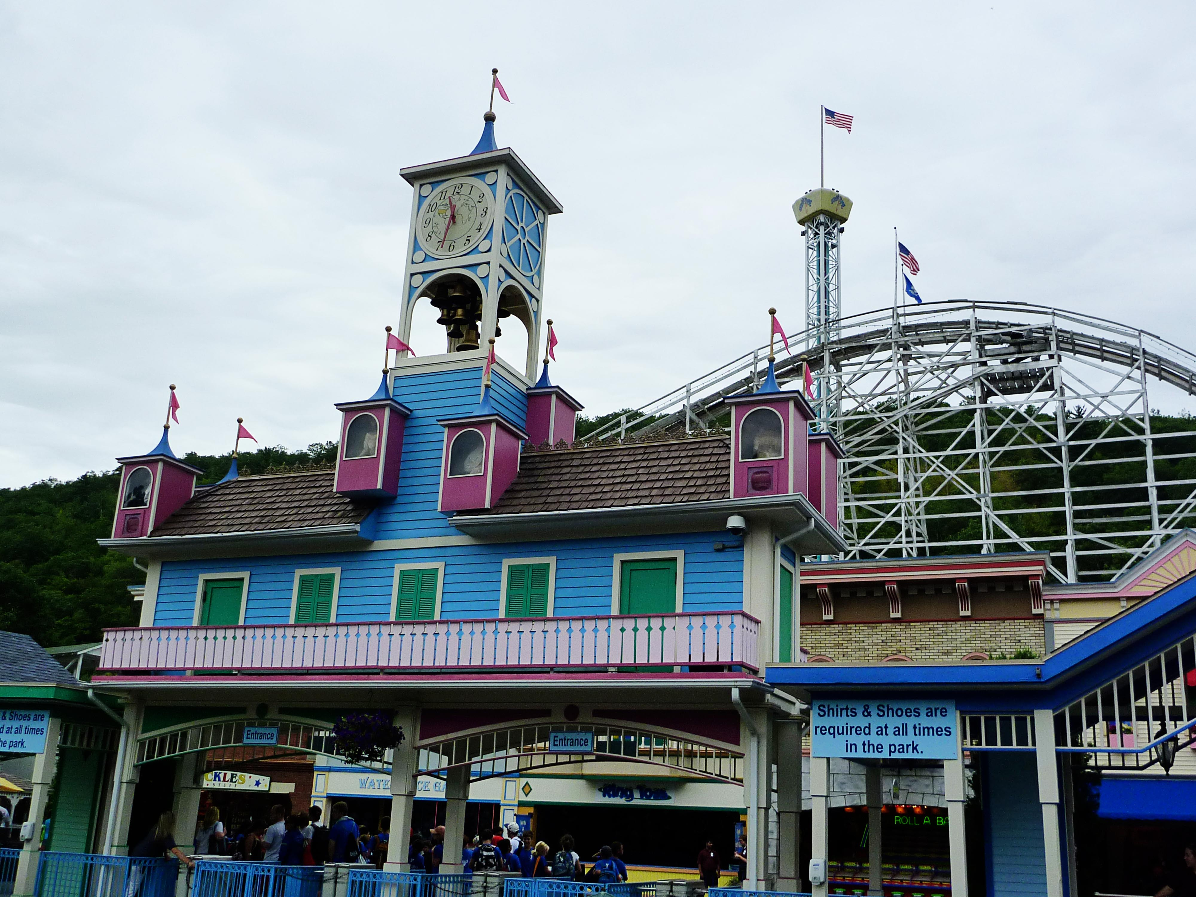 Lake Compounce is an amusement park located in Bristol and Southington, healthpot.ml in , it is the oldest, continuously-operating amusement park in the United States. It spans acres ( ha), which includes a beach and a water park called Crocodile Cove included in the price of admission. The park was acquired from Kennywood Entertainment Company by Palace .