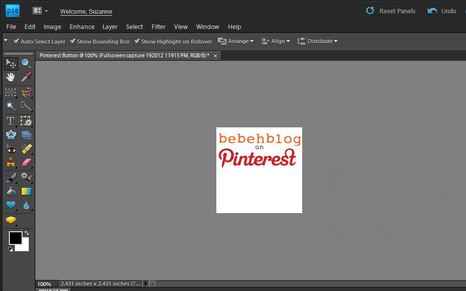 """how to make a """"my stuff on pinterest"""" button for your blog"""