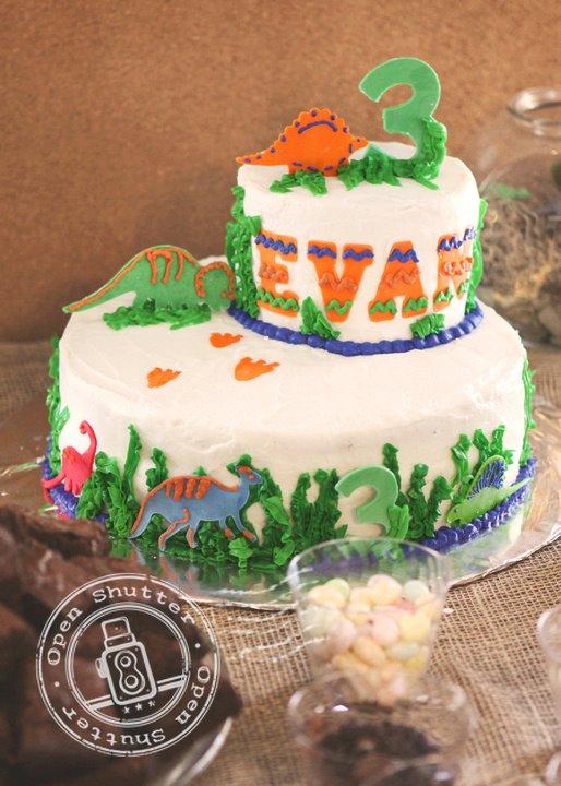 Evans Dinosaur Birthday bebehblog