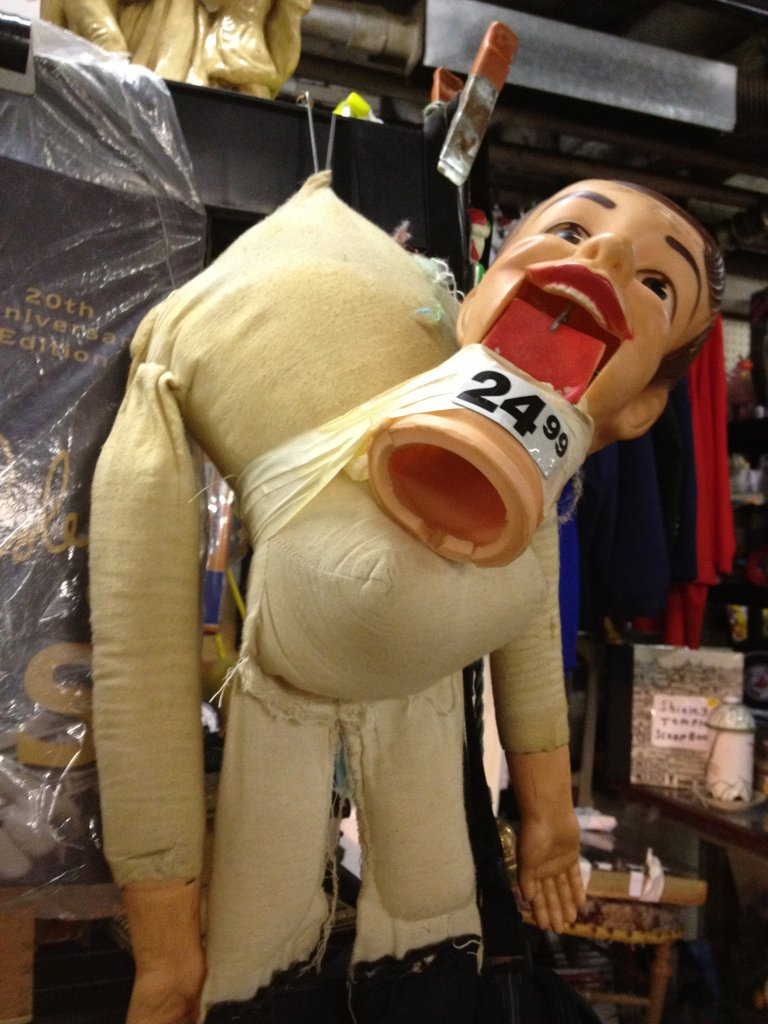terrifying ventriliquist dummy