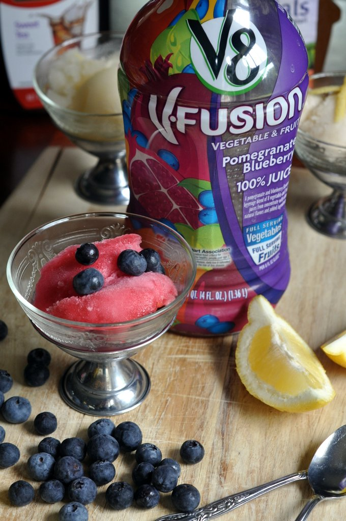 V8 Fusion Pomegranate Blueberry Juice