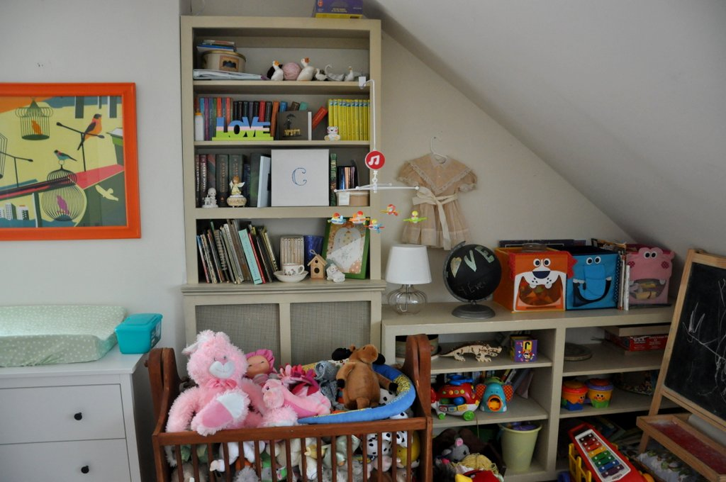 bebehblog home tour caroline's colorful nursery