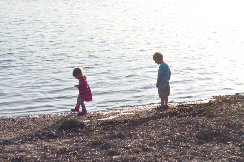 kids at bluff point