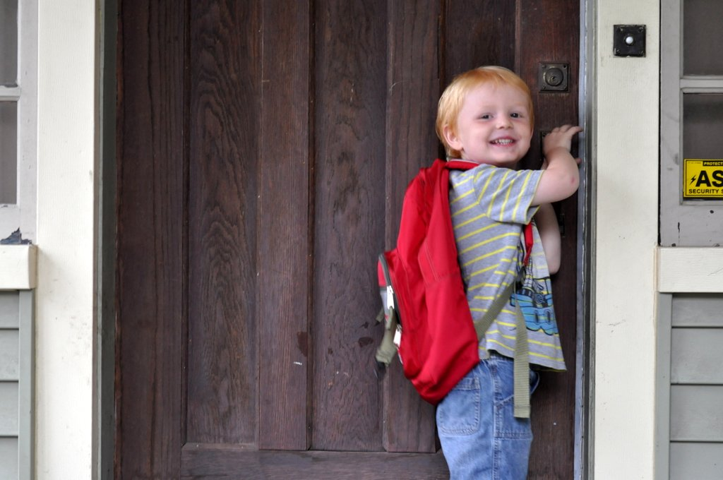 first day of preschool 2012