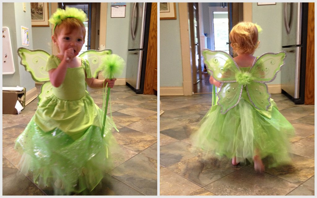 Caroline tinkerbell halloween costume