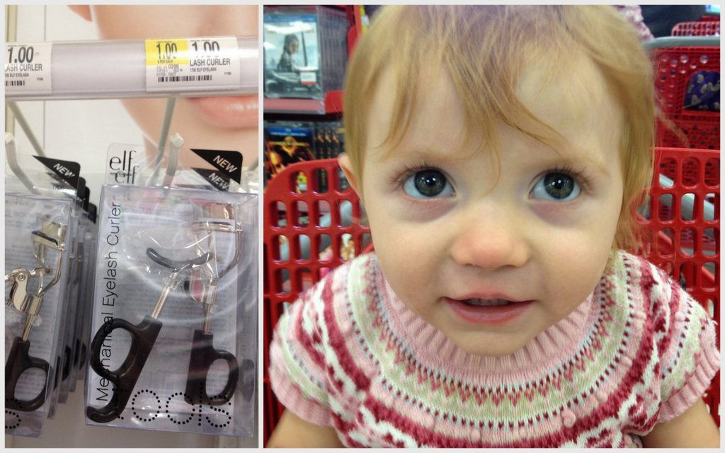 elf everyday face at Target #eyeslipsface
