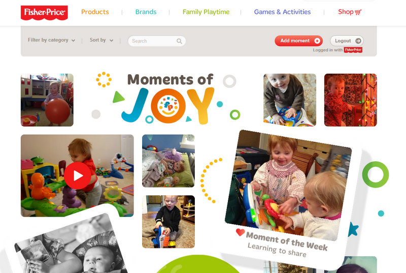 moments of joy website