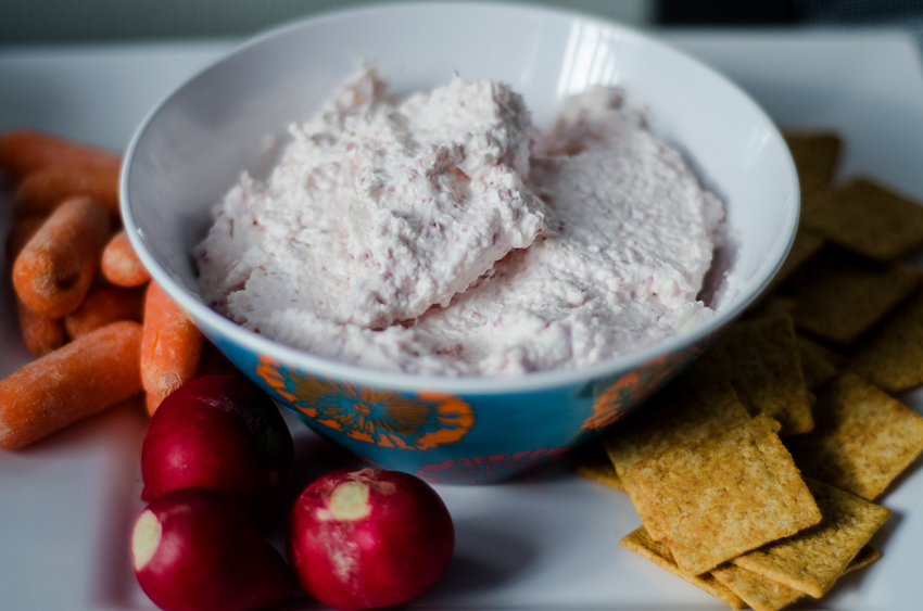 Easy Addictive Radish Dip