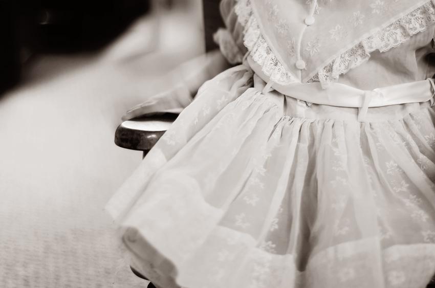 vintage dress-17 BW
