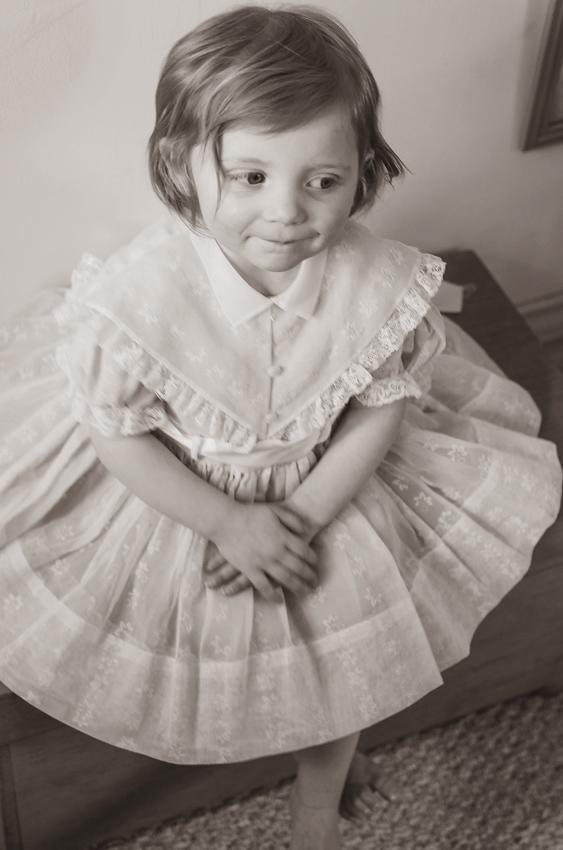 vintage dress-29 BW