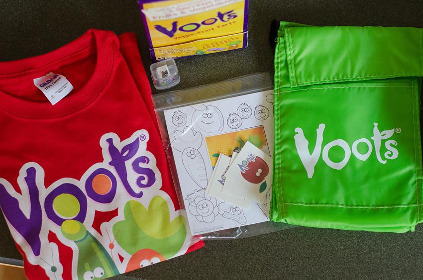 voots veggie fruit tarts prize pack