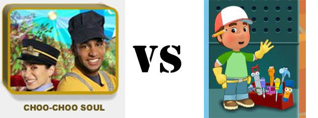 Choo Choo Soul vs Handy Manny