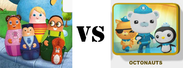 Higglytown Heroes vs Octonauts