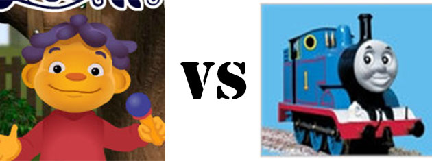 Sid the Science Kid vs Thomas the Tank Engine