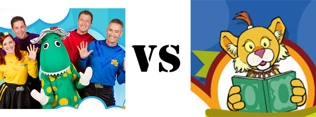 The Wiggles vs Between the Lions