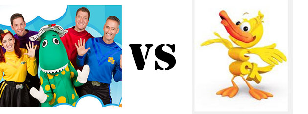 The Wiggles vs Word World