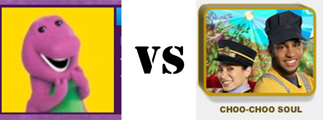 barney vs choo choo soul