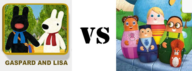 gaspard and lisa vs higglytown heroes