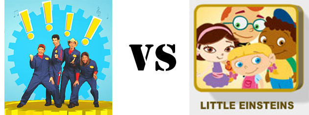 immagination movers vs little einsteins