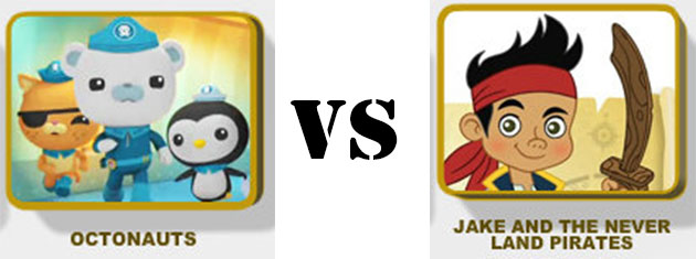octonauts vs jake and the neverland pirates