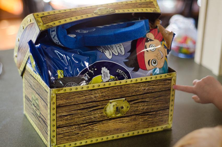 pirate booty treasure chest