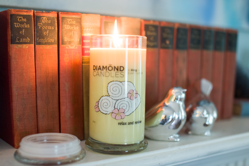 diamond candles