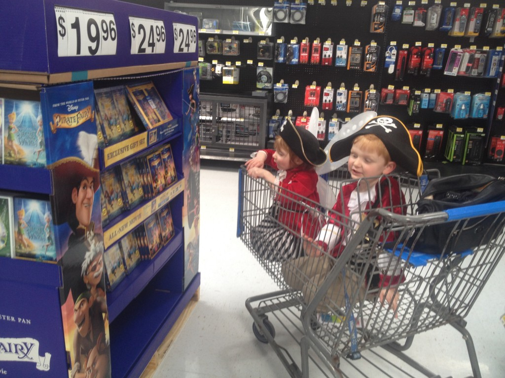 The Pirate Fairy at Walmart