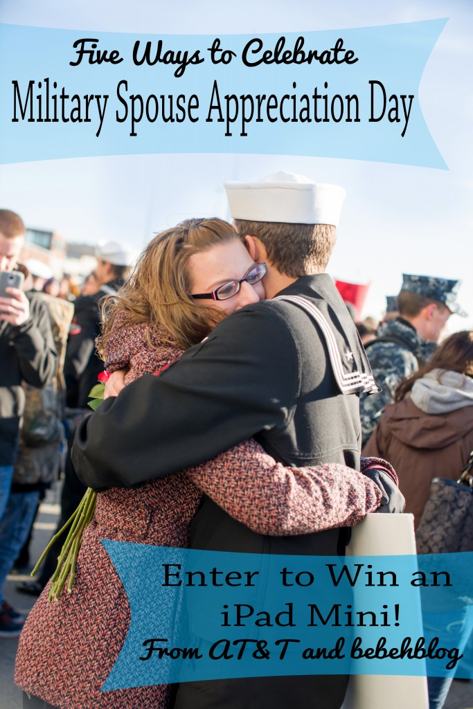five ways to celebrate military spouse appreciation day