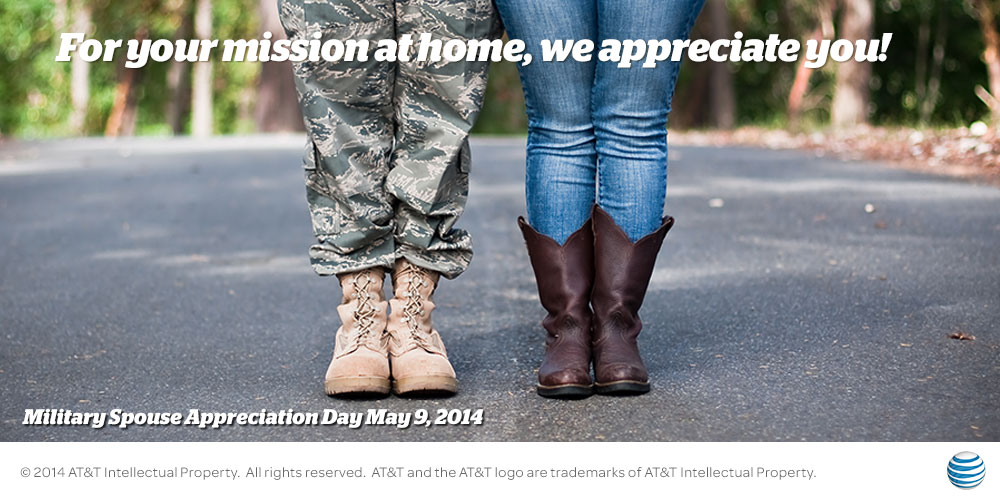 Military Spouse Appreciation Day -  @AT&T