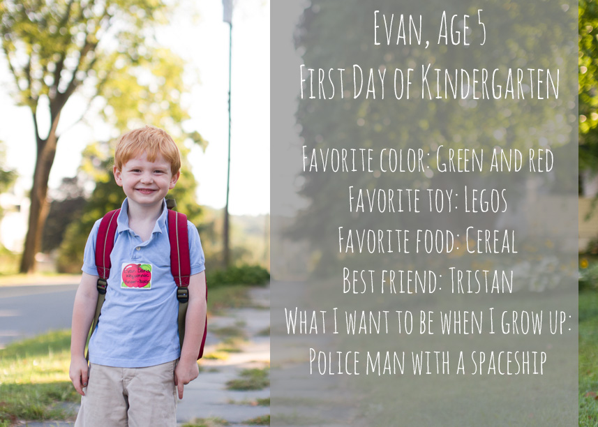 evan first day graphic