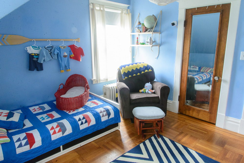 nautical blue and yellow nursery-26