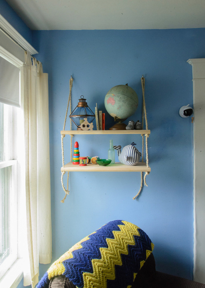 nautical blue and yellow nursery-27