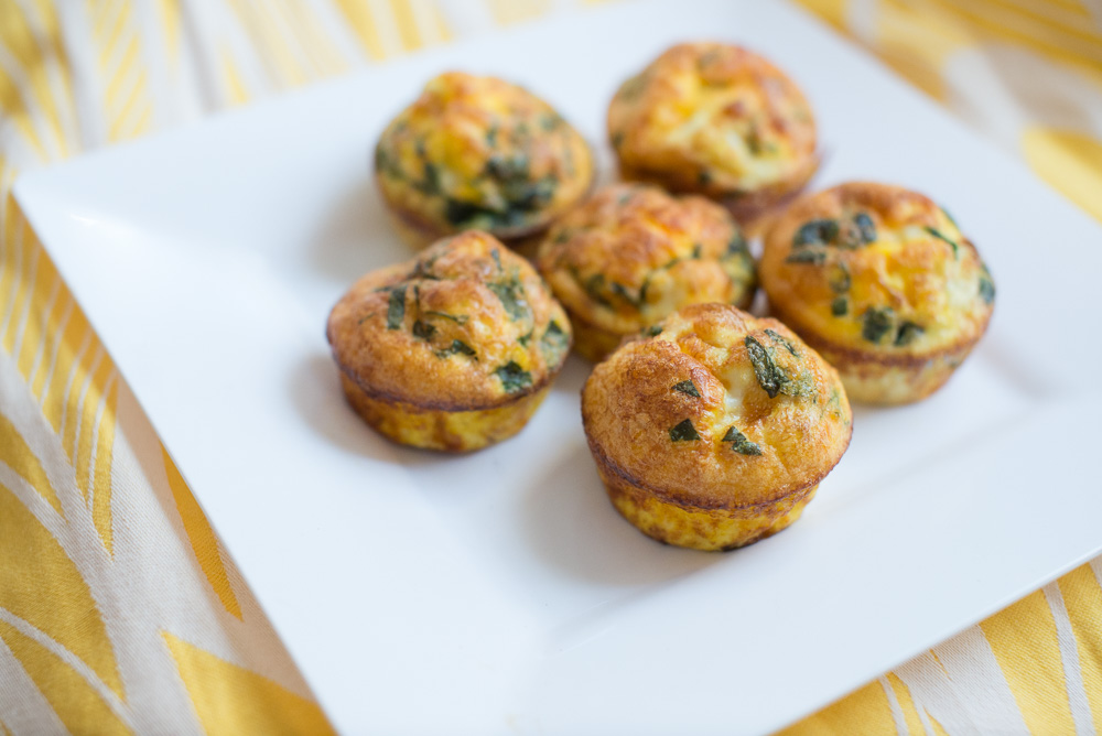 basil and cheese egg muffins-9
