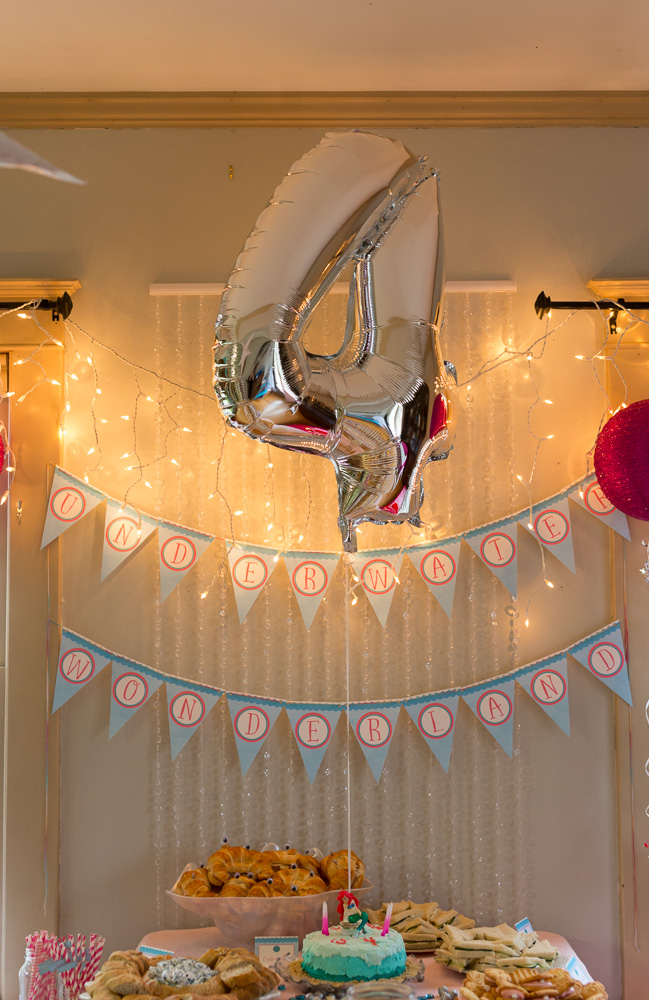 Undersea Wonderland 4th Birthday Party