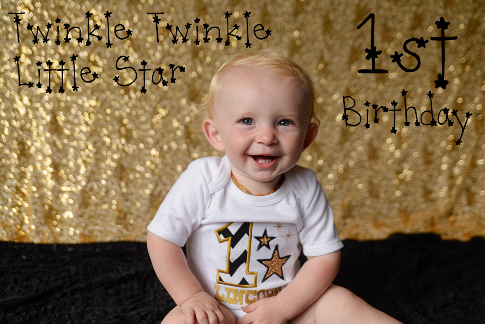 twinkle twinkle little star first birthday ideas