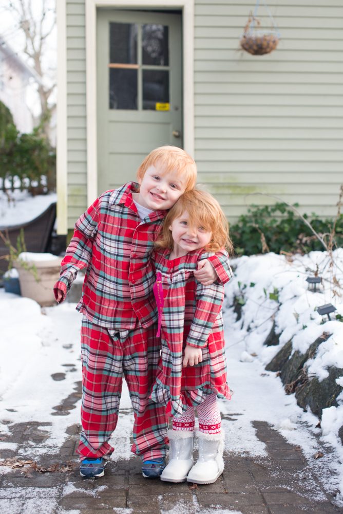 matching pajamas from Lands End 2013
