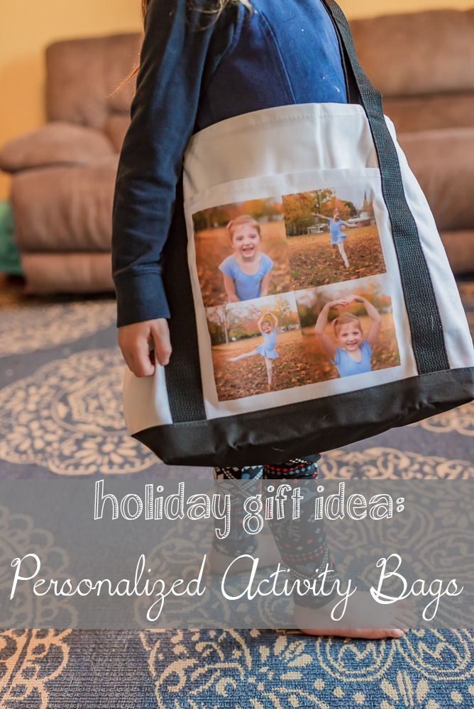 Holiday Gift Idea - Personalized Activity Bags