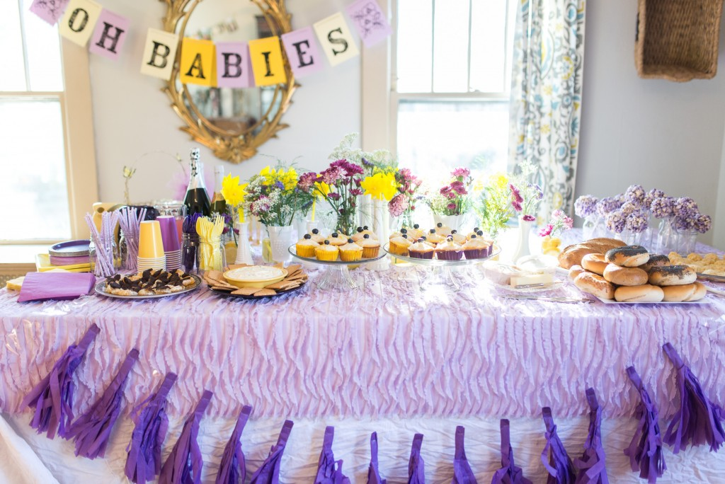 Lavender Baby Shower Decoration Ideas