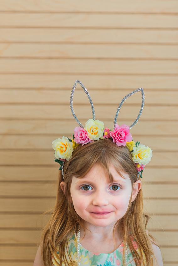 bunny ears flower crown headband-11