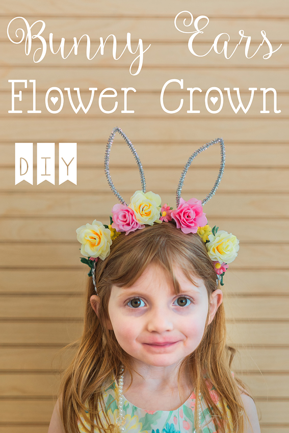 bunny ears flower crown headband-12