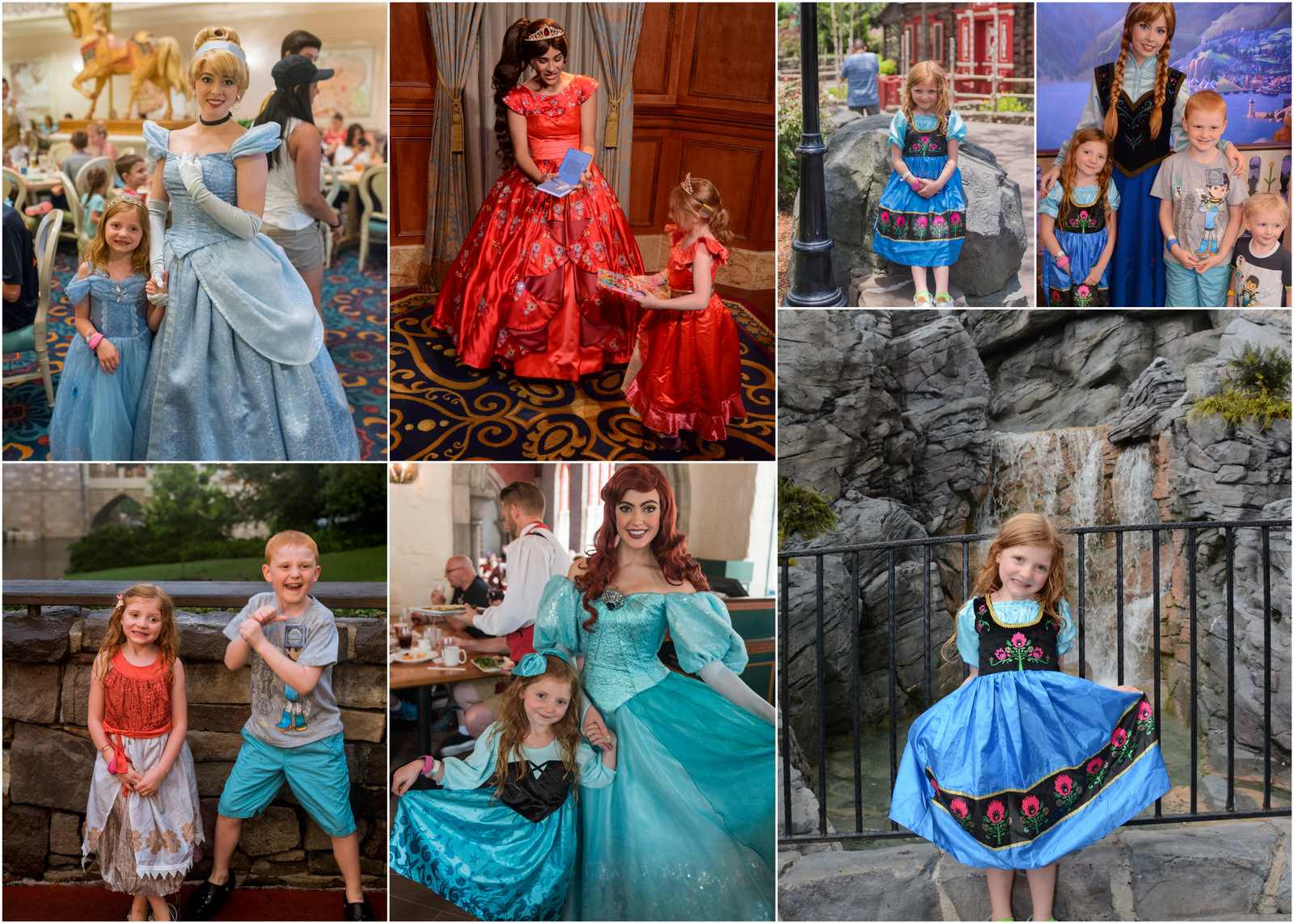 princess dresses at Disney