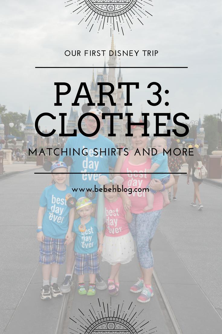Our First Disney Trip Fashion Bebehblog