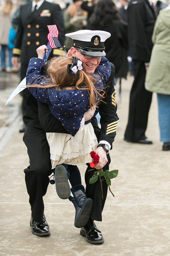 uss virginia deployment homecoming pictures